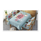 Factory Wholesale Table Cover flax customized Table Cloth