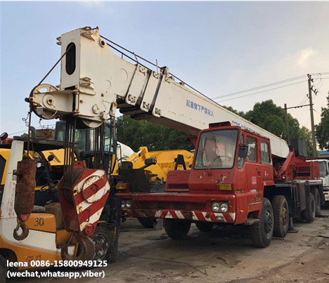 Tadano Truck Crane 50ton/ TG500E used mobile japanese crane With 5 booms for sale