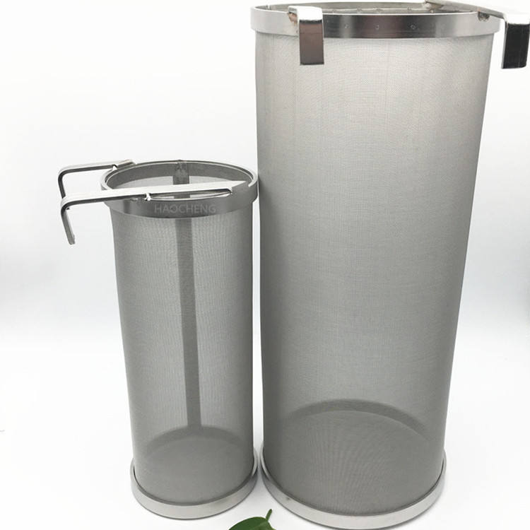 Beer Brewing 304 Stainless Steel Wire Mesh Bucket Strainer/hop filter