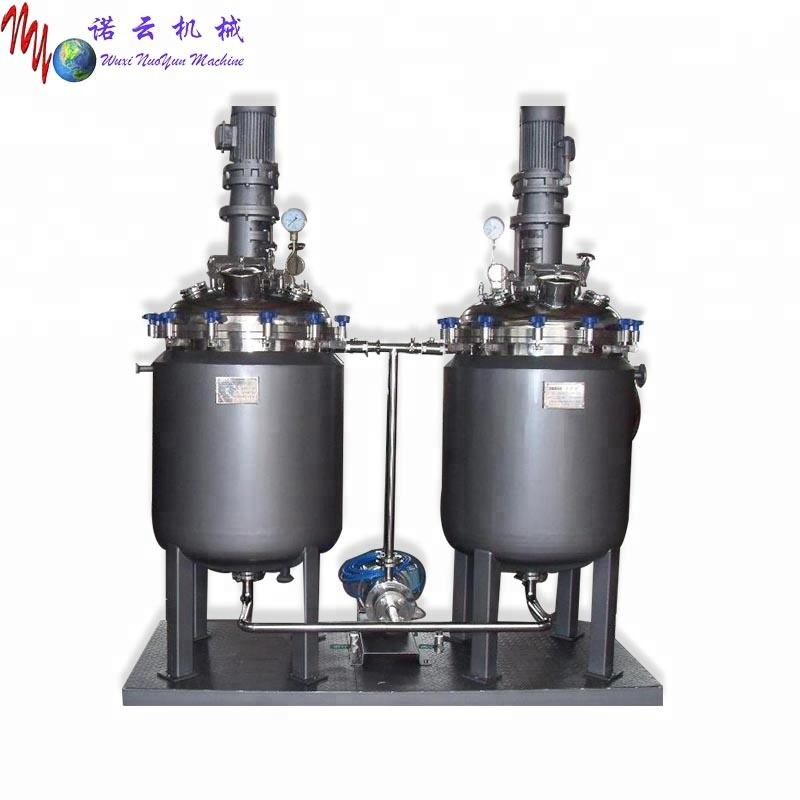 fast shipping best reactor machine chemical jacket