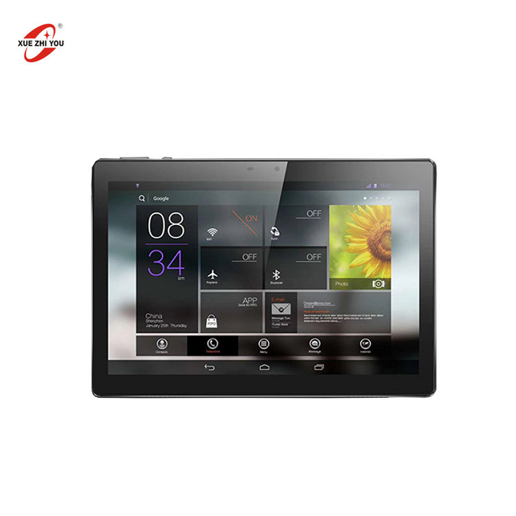 2020 Newest Tablet fingerprint android 9.0 quad core 32GB Rom Ram 2GB 4G calling Tablet PC with front 5.0MP camera