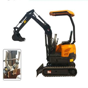 China Titan Brand 1200kg Mini/Small digger Hydraulic Crawler Excavator For Garden and farm