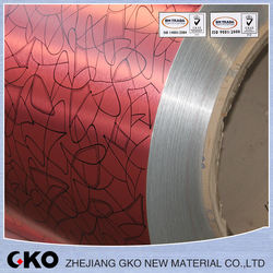 3003 pe pvdf Color coated aluminum coil/platel use of aluminum-plastic composite board