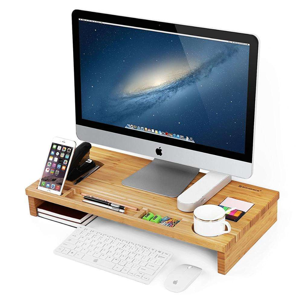 High quality custom colorful computer kiosk stand monitor keyboard stand