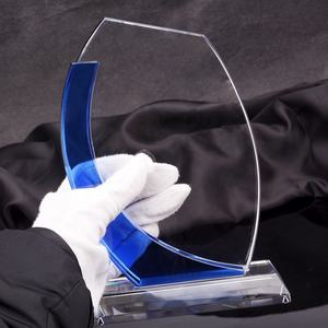 Factory sales suppliers produce crystal trophy and award for souvenir