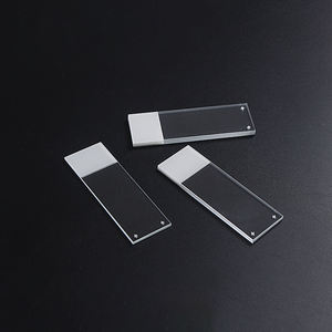 Glass prepared adhesive Microscope Slides, positive charge, polysine and silane