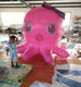 pink lovely outdoor giant inflatable octopus,Cartoon mascot inflatable octopus