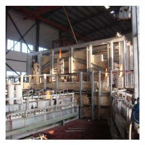 gas fired glass melting furnaces
