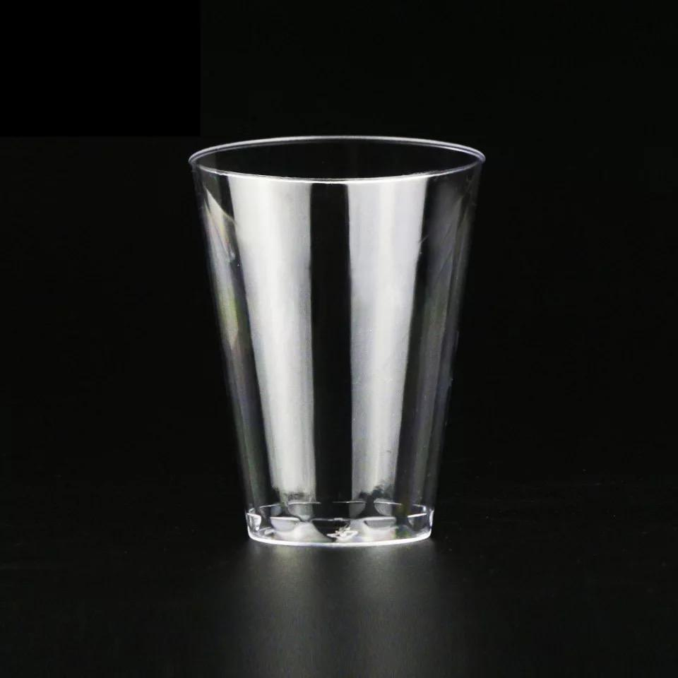 2017 hot sale promotional tumbler disposable PS drinking plastic cup 7oz 8oz 10oz 14oz