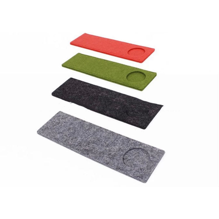 100% Non Woven Polyester Material Technics Felt Mat Fabric Cover For Indoor Golf Equipment