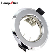 Recessed lighting fixed trims rings MR16 halogen