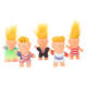 3.8 inch Action Figures DIY Doll Long Hair Troll Doll Electioneering President Donald Trump Model