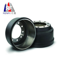 China hot selling 66864 brake drum for dump truck