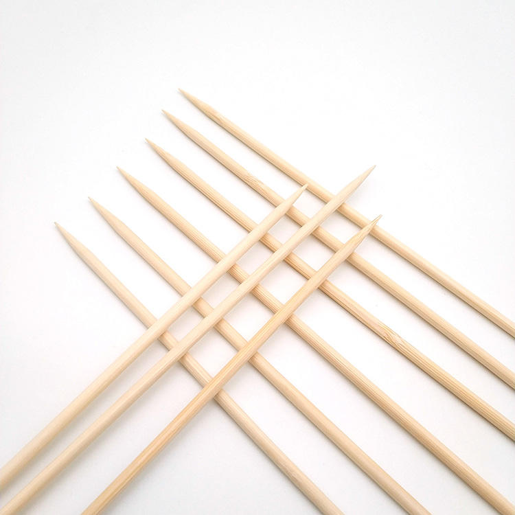 Custom logos 60cm bamboo skewers bamboo skewers bamboo shrimp skewer with competitive price