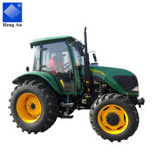 Agricultural machine / agricultural equipment / agricultural farm 80hp 804 4wd wheeled farm tractor