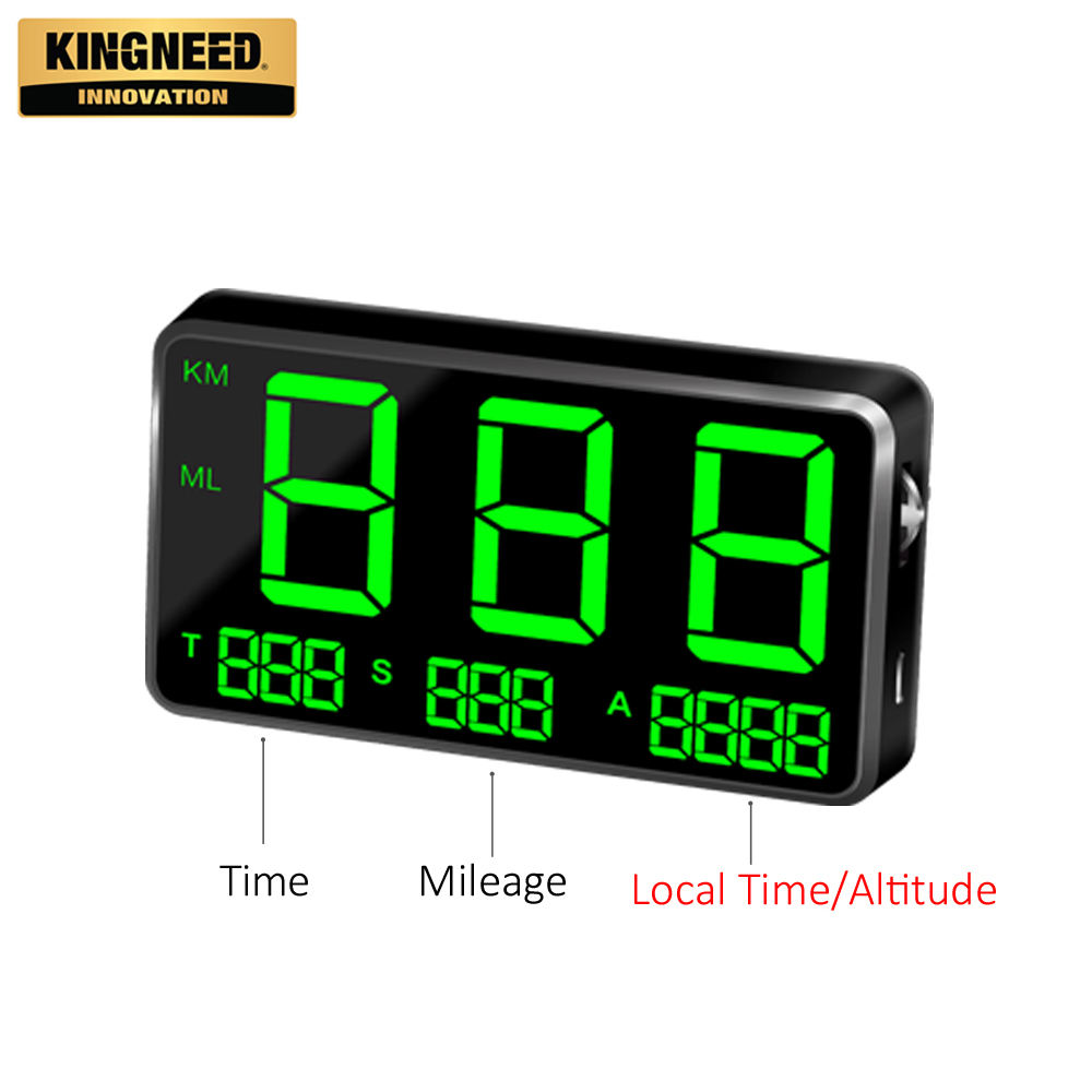 KINGNEED C80 hot koop universele digitale gps display auto hud