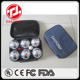 EASTONY outdoor 8 Ball Metal Mini Bocce/Petanque Set with custom bag