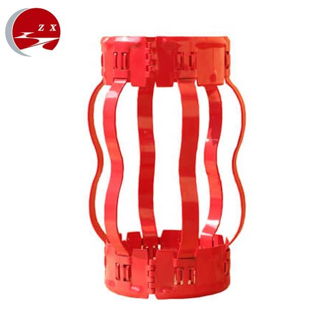 API 10D Hinged Non Welded Semi Bow Spring Casing Centralizer