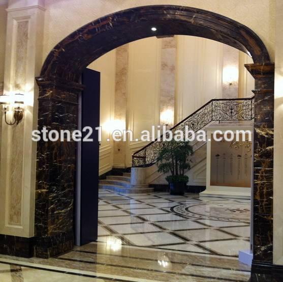 Мрамор арка камень дверная рама с фигура дизайн