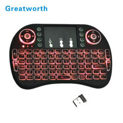 2.4g Mini Wireless Air Touchpad Keyboard I8 Mouse Bluetooth KeyBoard in Stock for android tv box