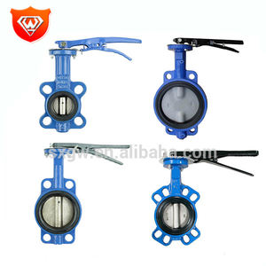Wafer Style Flanged Double Eccentric Butterfly Valve
