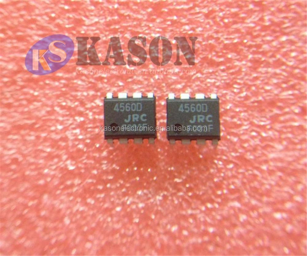 NJM4560 JRC 4560D 4x Dual Channel OP-AMP IC NJM4560D