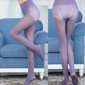 Pantyhose 60D Candy Color Tights Sexy Spring and Autumn Medias Collant Femme Velvet Pantyhose