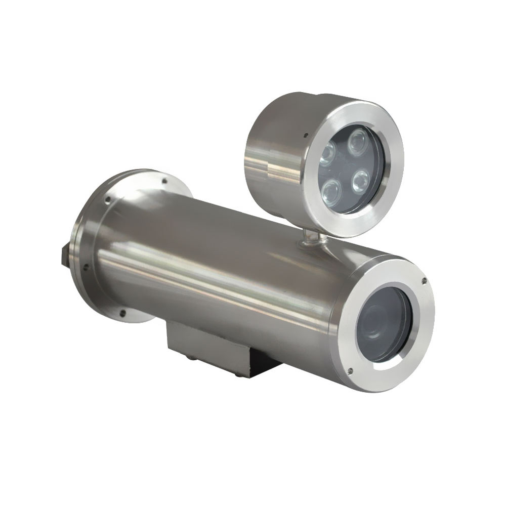 Gas oil application explosion proof infrared cctv camera with IR LED light made in China