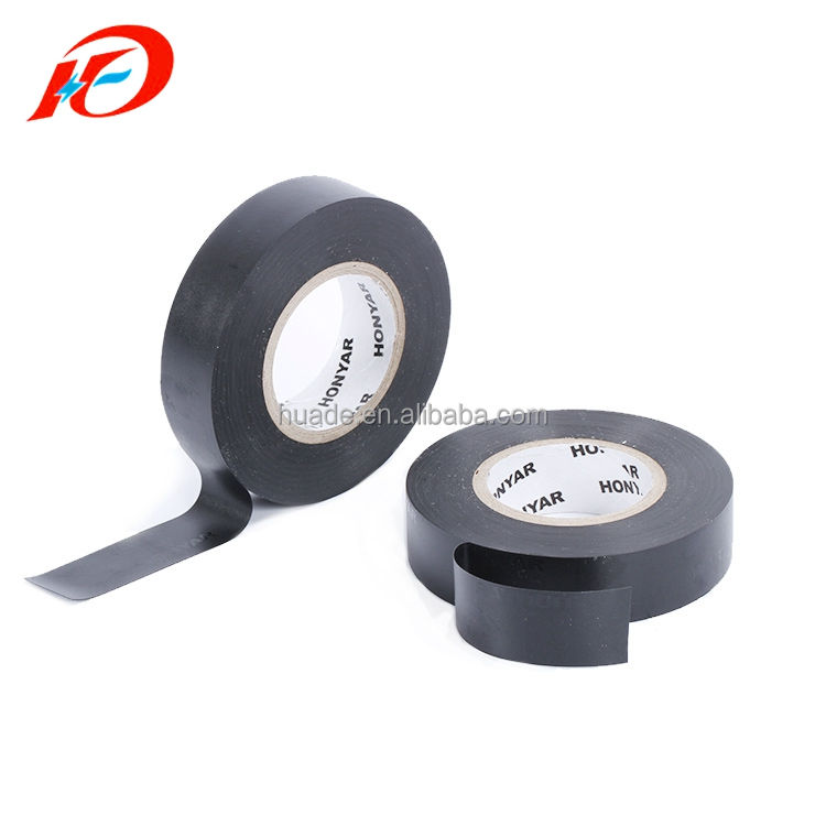 Rubber Pvc Insulation Tape Excellent Rubber Adhesive Electrical Insulation PVC Black Tape