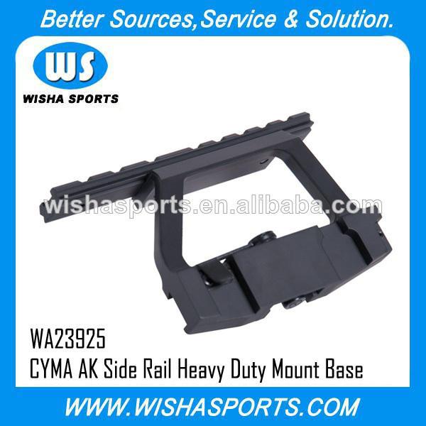 'CYMA Airsoft' AK Side Rail 20mm RAS Scope Sight Heavy Duty Mount Base C39