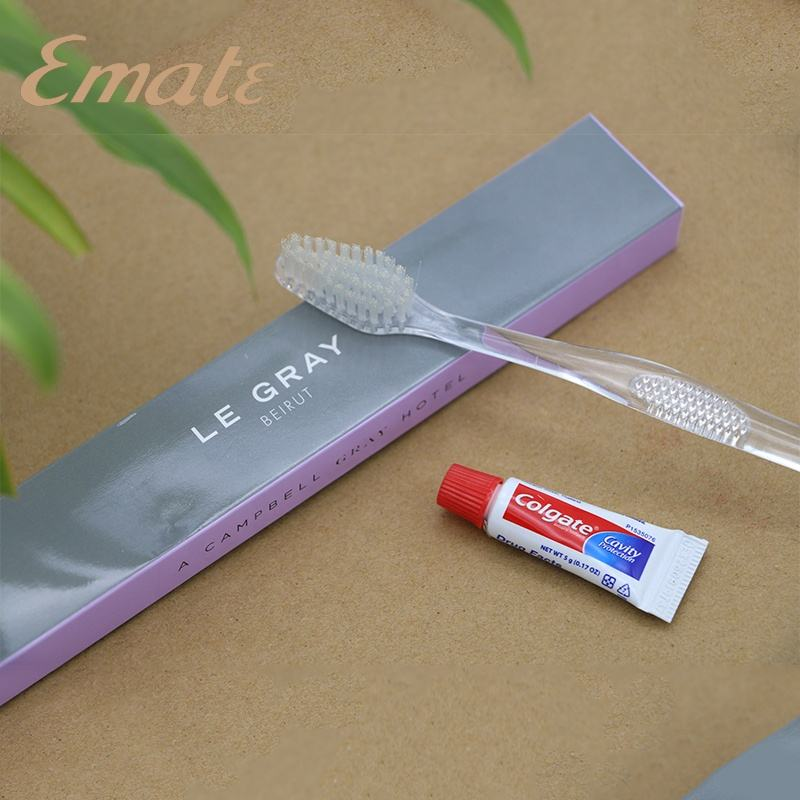 Luxury hotel dental kit/hotel tootbrush/hotel toothbrush kit