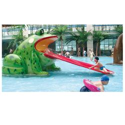 frog slide for water park play