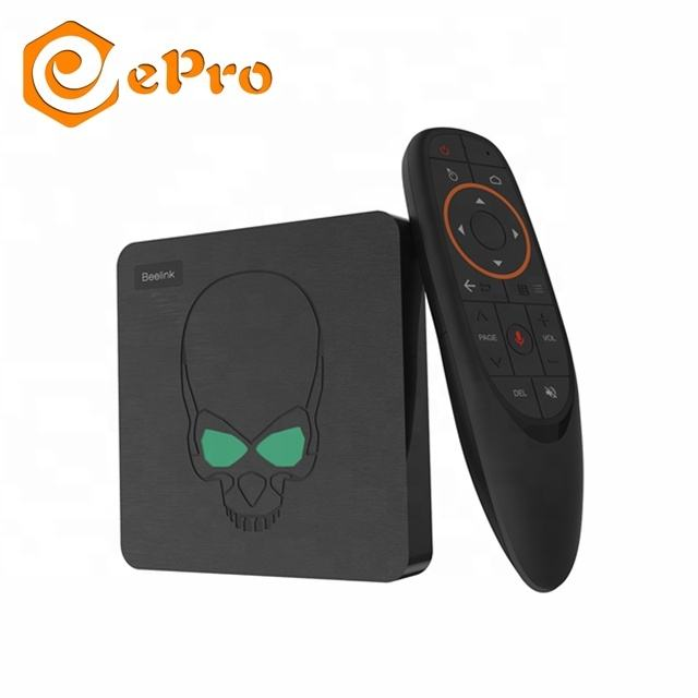 Beelink GT Koning S922X 4G 64G Google Gecertificeerd TV BOX Android 9.0 Smart IPTV Set Top Box Beelink GT-King voice afstandsbediening TV Box