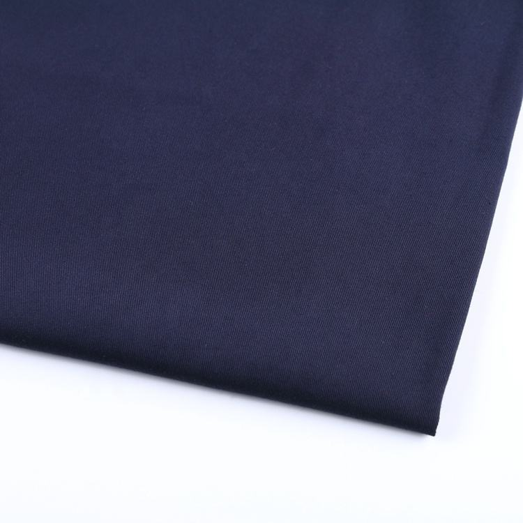 Navy blue bubble chiffon prijs per yard 95% polyester 5% spandex 4 way stretch voor vrouwen shirt