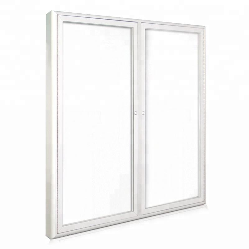 Silver Aluminium Frame 2 Pack VIZ-PRO Magnetic Dry Erase Board 180 x 120 cm