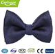 Blue with white dot pre-tied cheap christmas bow ties for dogs