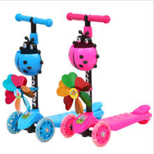 2018 new model baby toys kid scooter / 3 wheel 4 wheel scooters for children / mini baby kick scooter for sale