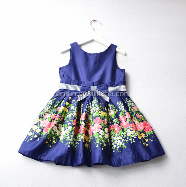 OEM bebé niñas PANA vestido de niña para la primavera otoño