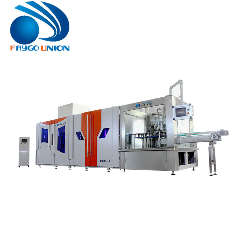 FG 4 Cavities 6800-7200 pcs/h Automatic PLastic PET Bottle Blowing Machine Price With CE Approved