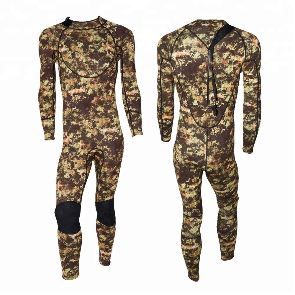 Factory Directly OEM 3mm Camo Neoprene Hunting Wetsuit