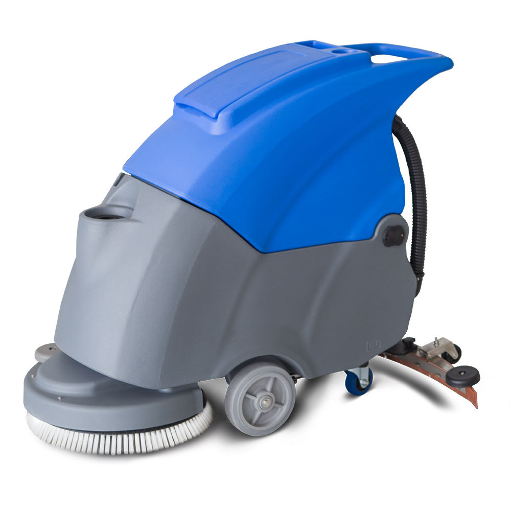 Online Support [ Dry Cleaning Machine ] Cleaning Floor Scrubber Cleaning Machine MN-V5 Electric Floor Scrubber Dry Cleaning Machine For Sale