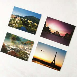 Custom High Quality Paper Postcard Printing, Custom Thank You Card Postcard Printing