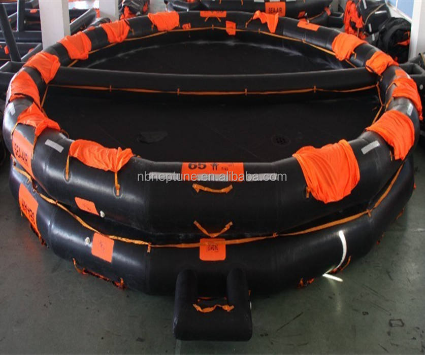 65 persons open-reversible inflatable liferaft for sale
