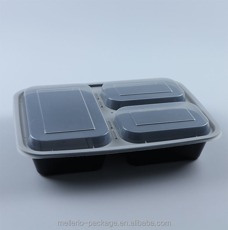 Amazon hot koop microwavable takeaway plastic voedsel container