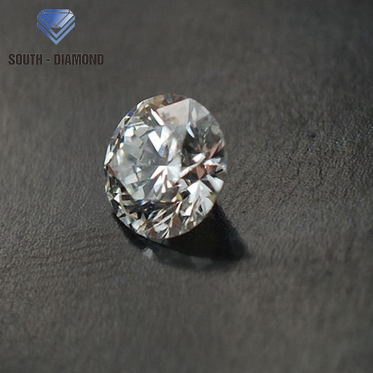 Lab grown artificial 1 carat HPHT jewelry gem loose synthetic diamond