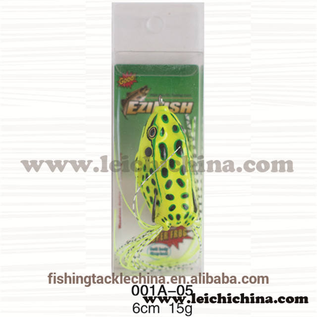 Biomimetic silicone skin sharp hook fishing soft frog lure