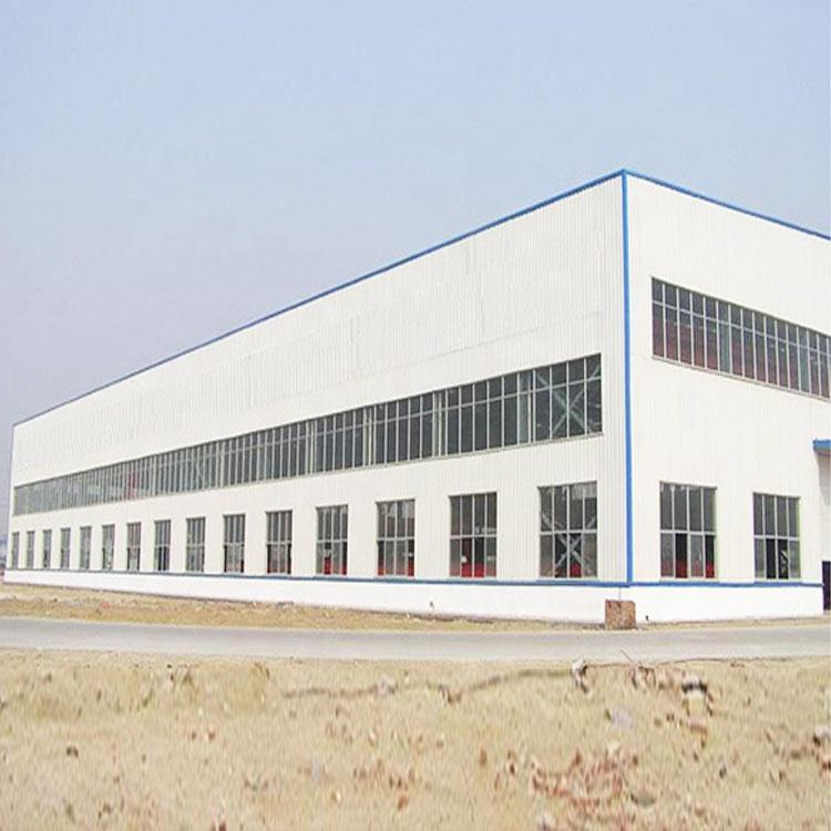 china low cost steel structure prefab house/workshop/warehouse