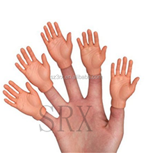Custom made hand finger puppets, making finger puppets factory, realistic hand puppets