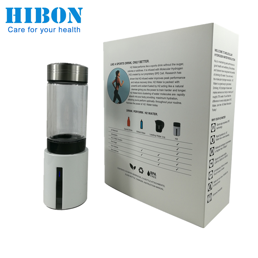 Hibon High Quality H05 Hydrogen Water Ionizer Make Pure Alkaline Hydrogen Water