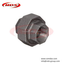 npt malleable iron pipe casting fitting union